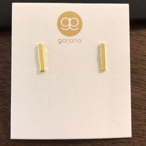 Bar earrings by Gorjana!